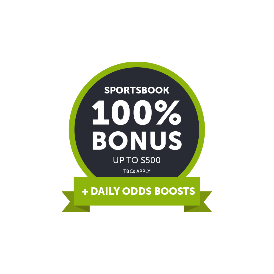 Get a 100% Deposit Bonus up to $500 to use in our Sportsbook
