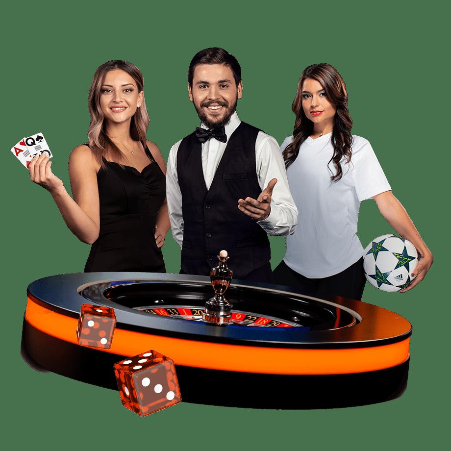 Live casino-bonus
